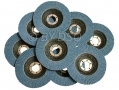 Trade Quality 10 Pack 60 Grit 115 x 22mm Zirconium Sanding Flap Disc AB154 *Out of Stock*