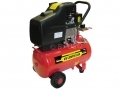 Pro User 2HP Electric Twin Outlet 24L Air Compressor ACK24