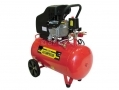 Pro User 2HP Electric Twin Outlet 50L Air Compressor Cast Head 7.25 cfm ACK50