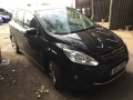 2014 Ford C-Max 1.0 E/B 125 Zetec 5 Doors Manual Black Petrol Air Con Alloys Service History 58,000 miles AE14MXH