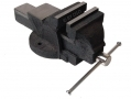 "Am-Tech 4"" 100mm Engineers Fixed Base Vice with Anvil AMD4250 *Out of Stock*"