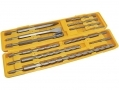 Am-Tech Professonal 12 Pc SDS Chisel and Drill Bit Set 5 - 20mm AME0670 *Out of Stock*