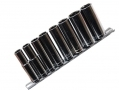 "Am-Tech 9 Piece 3/8"" Drive Deep Socket Set 10 - 19mm on Stainless Steel Rail AMI6500 *Out of Stock*"