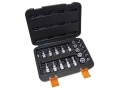 Am-Tech 29 Pc 1/4 3/8 inch Torx, E Socket and Bit Set T10- T55, E4- E20 AMI8275 *Out of Stock*
