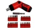 Am-Tech 26 Pc 3 Position Ratchet Screwdriver and Bit Set AML1975