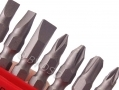 Am Tech 10 pc 65mm Double Ended Power Bit Set Slotted Phillips Pozi Drive AML2600 *Out of Stock*