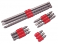 Am Tech 12 pc Assorted Power Bit Set Slotted Phillips Pozi Drive AML2700