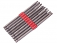 Am Tech 9 pc 150mm Power Bit Set Slotted Phillips Pozi Drive AML3000 *Out of Stock*