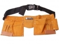 Am Tech 11 Pocket Budget Leather Tool Belt AMN0950
