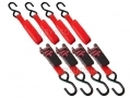 Am-Tech 15 Feet x 1 Inch Ratchet Tie Down Straps x 4 500lb AMS0751 *Out of Stock*