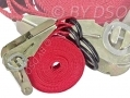 Am-Tech 50mm x 6.7 Meters GS TUV Approved Ratchet Tie Down 460kgs Capacity AMS0801