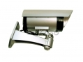 Am-Tech Replica CCTV Security Camera – with Flashing LED Battery Powered AMS1603