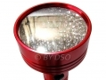 Am Tech Red 95 LED Aluminium Torch AMS1652 *Out of Stock*