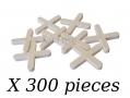 Am-Tech 300 Piece 4mm Tile Spacers AMS4455