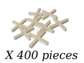 Am-Tech 400 Piece 3mm Tile Spacers AMS4460