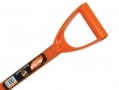Am Tech Border Spade Polypropylene D Handle Carbon Steel  AMU1600