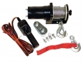 Am-Tech 12V Reversible Electrical Winch 2000 LBS AMV1800 *Out of Stock*