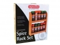 Apollo Rubberwood Spice and Herb Set with Spices AP3764 *Out of Stock*