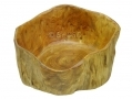 Apollo 30cm Hand Crafted Burr Wood Fruit Bowl Cracked Side AP7102-RTN1 (DO NOT LIST) *Out of Stock*