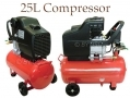 Professional Quality 24Ltr 240V Twin Outlet Air Compressor AT045