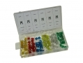 Trade Quality 120pc Mini Automotive Car Fuse Set 5 to 30amp in Storage Case AU303 *Out of Stock*