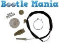 Beetle 98-2010 Convertible 03-2010 Passenger Rear Regulator Repair Kit BEET-REAR-LEFT-REGULATOR-KIT