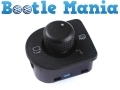Beetle 99-2010 Convertible 03-2010 Drivers Side Door Mirror Switch RHD 1J2959565F *Out of Stock*
