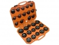 BERGEN Professional 30 pc Oil Filter Removal Master Set Damaged Case BER0177-RTN1 (DO NOT LIST) *Out of Stock*