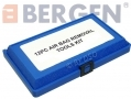 BERGEN Vewerk 12 piece Comprehensive Air Bag Removal Kit in Blow Moulded Case BER5002
