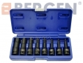 "US PRO Professional 8 Piece 1/2"" Drive Impact Hex Allen Bit Socket Set US1305 *Out of Stock*"