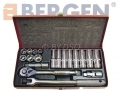 "BERGEN Professional 20 Piece 3/8"" Drive Shallow and Deep Socket Set BER1021 *Out of Stock*"