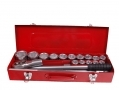 BERGEN Industrial Quality 21 Piece 3/4 inch Drive Chrome Vanadium Socket Set - Damaged Case BER1053-RTN1 (DO NOT LIST) *Out of Stock*