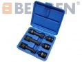"US PRO Professional 6 Piece 1/2"" Drive Spline Impact Socket Bits Set - Missing M18 Socket US1400-RTN1 (DO NOT LIST) *Out of Stock*"