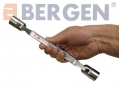 BERGEN Professional 6 Piece Metric Double Flex Socket Spanner Set BER1860 *Out of Stock*