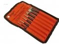 BERGEN 7 Piece Punch and Chisel Set Chrome Vanadium in Canvas Pouch Missing Taper Punche BER1956-RTN1 (DO NOT LIST) *Out of Stock*