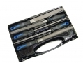 BERGEN Professional 5 Piece Steel File Set 200mm BROKEN CASE BER2523