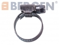 BERGEN 49 Pack Jubilee Hose Pipe Clamp Clips For Air Water Fuel Gas 20 to 32 mm BER2715 *Out of Stock*