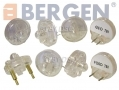 BERGEN Professional Trade Quality 10 Pc Deluxe Noid Light Kit Set BER5307 *Out of Stock*
