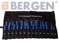 BERGEN 27 Pc Non Stratch Trim Removel Set with Bag BER5413