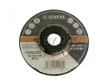 "BERGEN VEWERK 4 1/2"" Inch Metal Grinding Discs Angle Grinder 10 Pack Depressed Centre BER8015 *Out of Stock*"