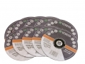 BERGEN VEWERK Stainless Steel 9 inch - 230mm Cutting Discs 10 Pack with Flat Centre 230mm x 2mm x 22mm BER8018