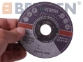 BERGEN VEWERK Ultra Thin 25 Pack Metal Cutting Discs with Flat Center 115 x 3.2 x 22.2mm BER8065 *Out of Stock*