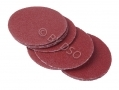 BERGEN Vewerk Bodyshop Spec 50 Pack 50 mm Velcro Sanding Discs 240 Grit BER8078 *Out of Stock*