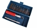 Tool-Tech Craft Knife Set with Storage Box (No Blades)  BML11020