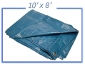 Tool-Tech Multi Purpose 10 X 8 Foot Polyethylene Woven Tarpaulin BML12730 *Out of Stock*