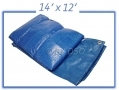 Tool-Tech Multi Purpose 14 X 12 Foot Polyethylene Woven Tarpaulin BML15600
