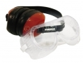Tool-Tech 2 Piece Safety Protection Kit Ear Defenders and Safety Goggles Glasses BML15700 *Out of Stock*