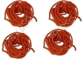 Pack of 4 High Visibility Guy Tent Ropes Camping Line 3.8 Meters BML20540 *Out of Stock*