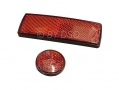 Trade Quality 12pc Adhesive Reflector Set Vehicles, Bicycles Motorcycles Red BLM22950RED *Out of Stock*