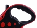 3M Auto-retractable Black/Red Dog Leash with Comfort Grip BML31800